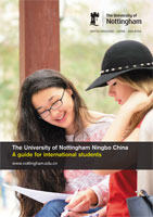 The University of Nottingham Ningbo China - A guide for international students