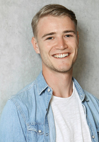 Severin Schrotter, graduate with a bachelor's degree in tourism
