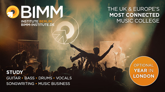 BIMM - The UK & Europe's most connected music college
