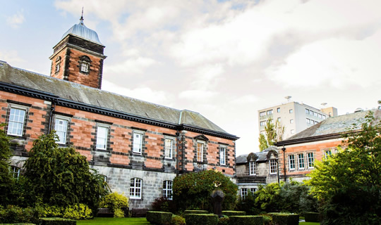 The University of Dundee campus