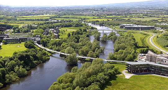 The University of Limerick campus is one of the most beautiful university campuses anywhere in the world.